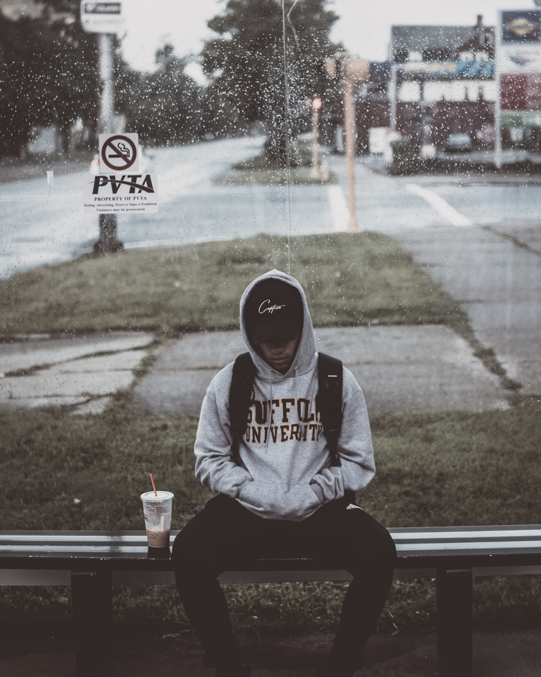 patience-patient-waiting-bus-stop-kid-african-american